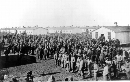 Confederate prisoners Camp Douglas4