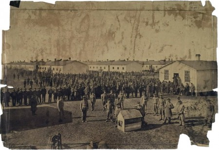 Confederate prisoners Camp Douglas6