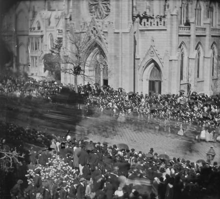 Lincoln funeral in New York