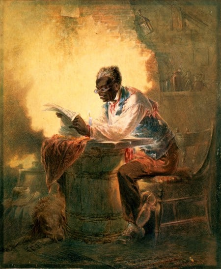 Slave Reading the Emancipation Proclamation