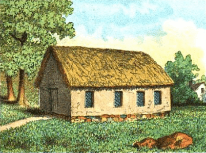 The first Meeting House in Boston