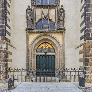 The Door of All Saint's Church in Wittenberg