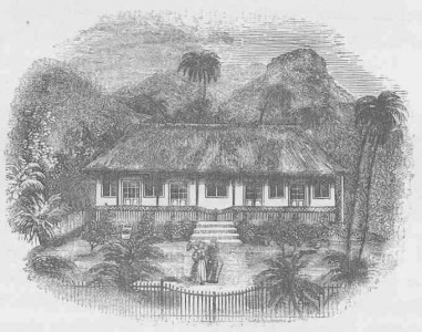 Williams's House in Raiatea