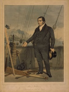 Williams on Board Ship