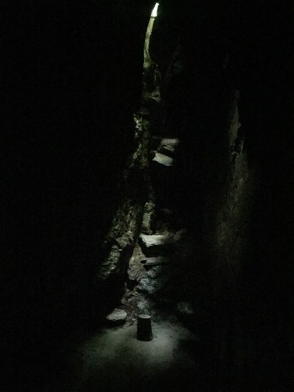 A cave where the Waldenses hid from their persecutors