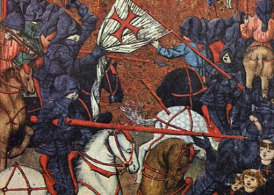 Knights Charging Hussites