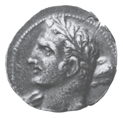A Carthaginian Coin which may depict Hannibal