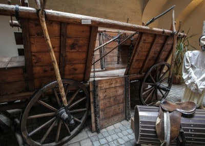 Replica of a Hussite War Wagon